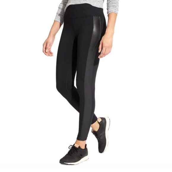 be851e0c802f78 Athleta Pants | Tuxedo Metro Legging | Poshmark